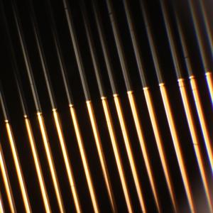 Fiber metallization