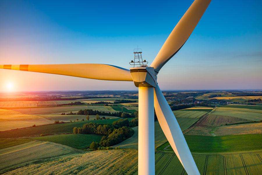 Monitoring de la performance des éoliennes par fibre optique