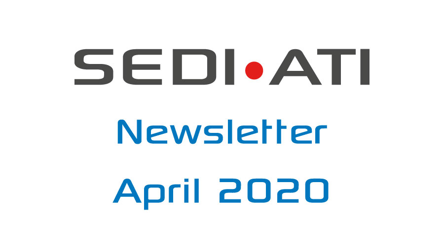 Logo Newsletter of SEDI-ATI dated April 2020