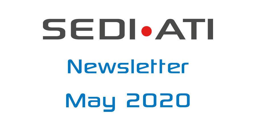 Logo Newsletter of SEDI-ATI dated May 2020