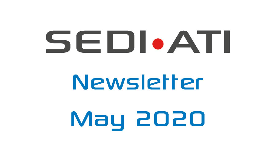 Logo Newsletter of SEDI-ATI dated May 2020