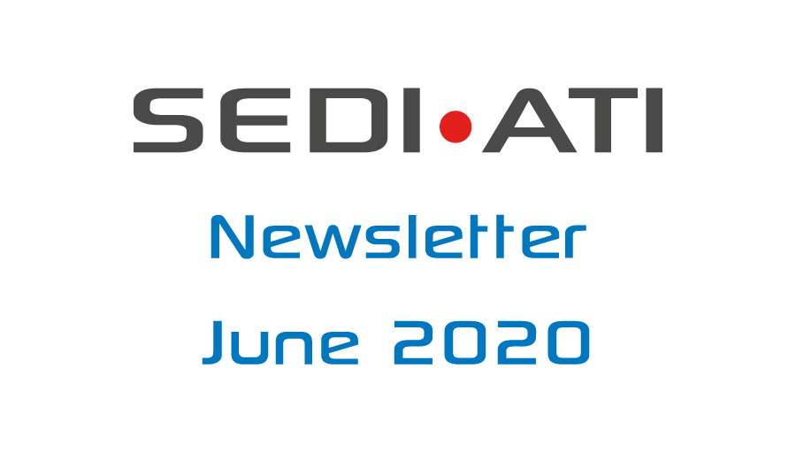 Logo Newsletter of SEDI-ATI dated June 2020
