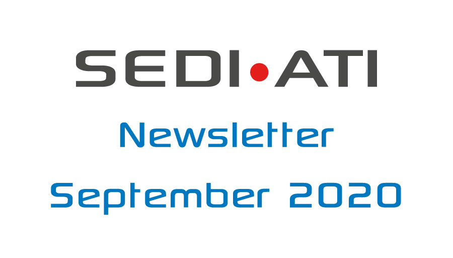 Logo Newsletter of SEDI-ATI dated September 2020