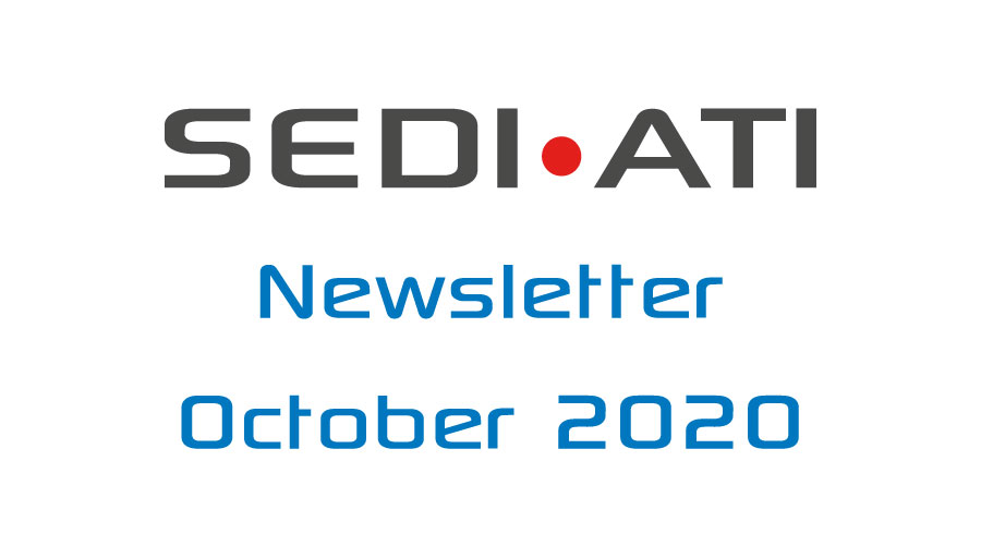 Logo Newsletter of SEDI-ATI dated October 2020