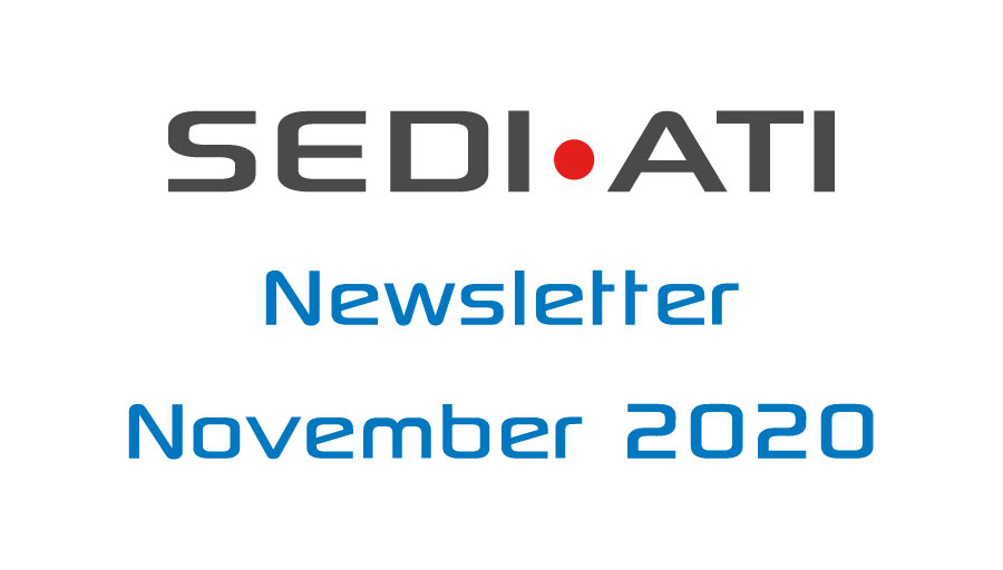 Logo Newsletter of SEDI-ATI dated November 2020