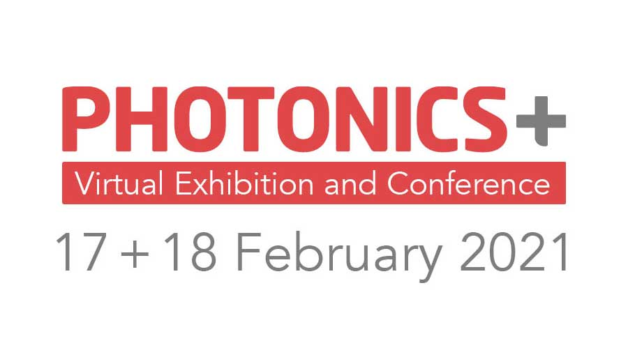 Logo of Photonics Plus virtual exhibition and conference