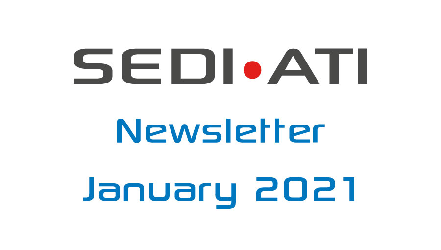 Logo Newsletter of SEDI-ATI dated January 2021
