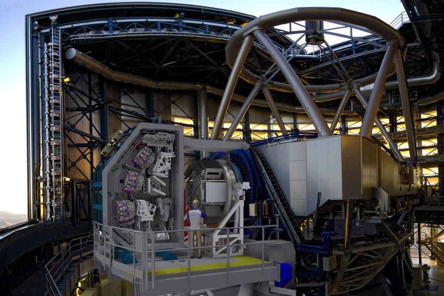 MOONS : le spectrographe multi-objets optique et proche-infrarouge du VLT, alimenté par un millier de fibres optiques !